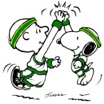 Basketball_Players_Charlie_Brown_Snoopy_Celtics_High_Five-1