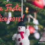 Buone Feste e Felice 2018!