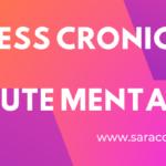 Stress cronico e salute mentale